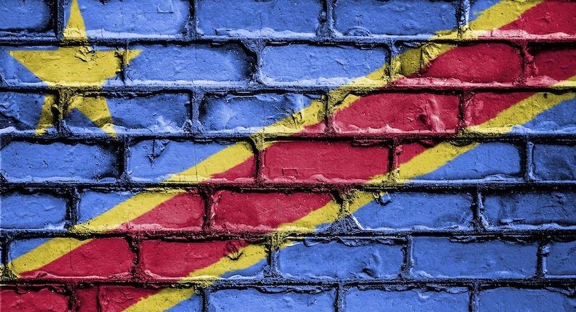 DRC flag wall