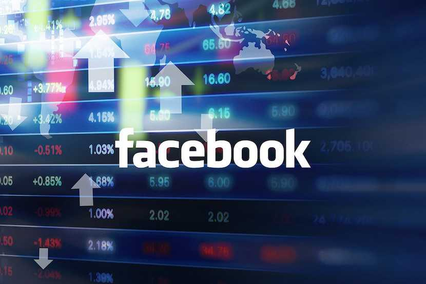 Facebook stock, share price
