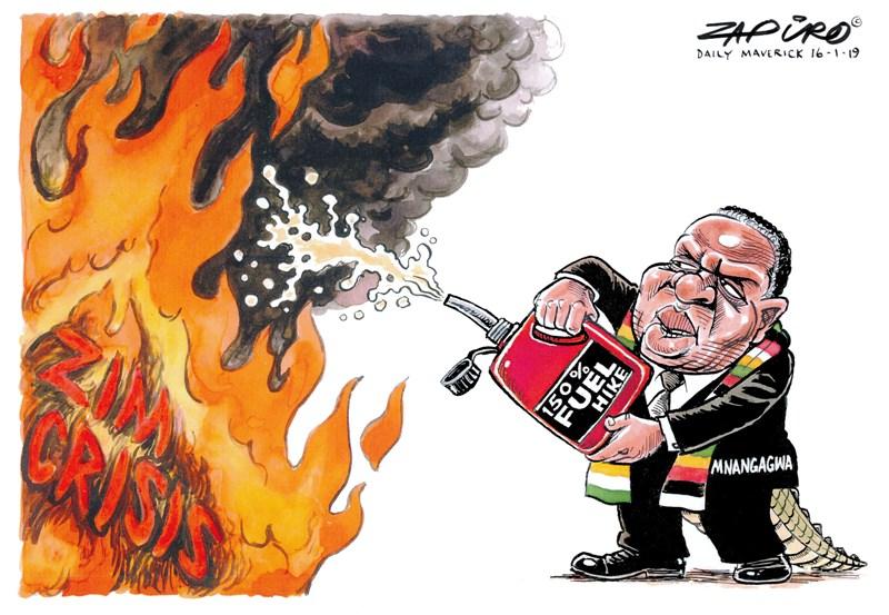 Zim Crisis Zapiro