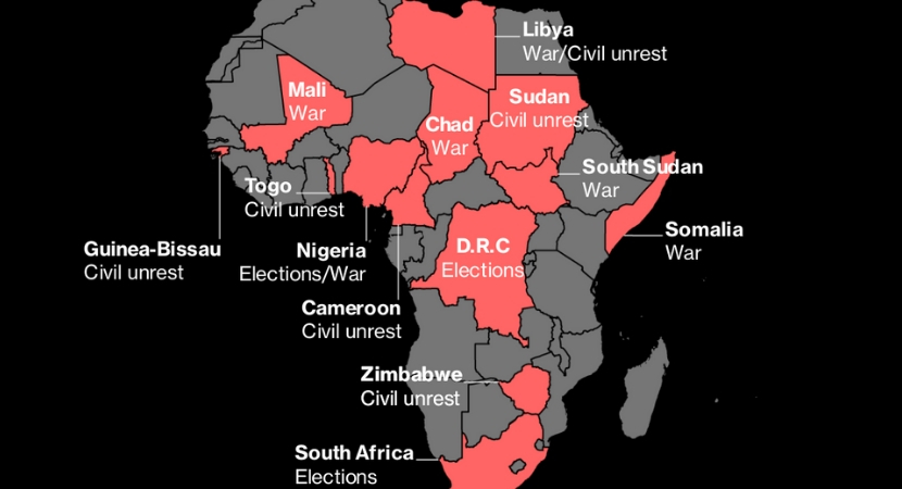 Elections and unrest: Africa's main hotspots in 2019