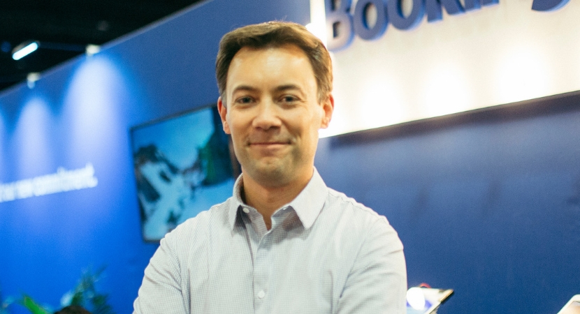 Olivier Gremillion, vice president at Booking.com.