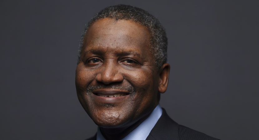 African billionaires led by Dangote
