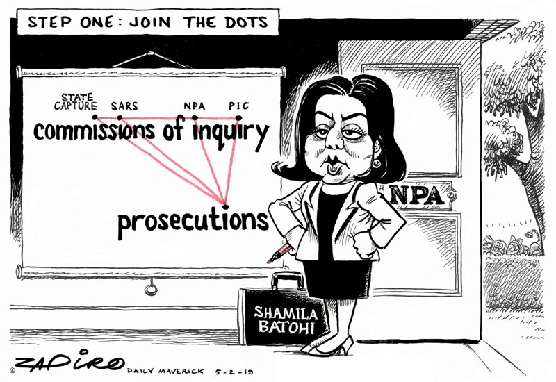 Zapiro Batohi NPA