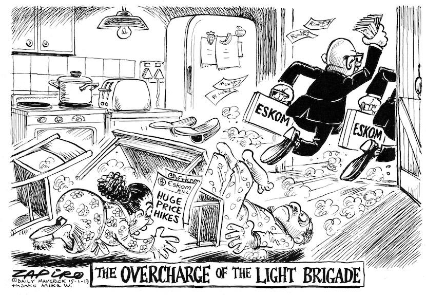 Eskom Light Brigade Zapiro