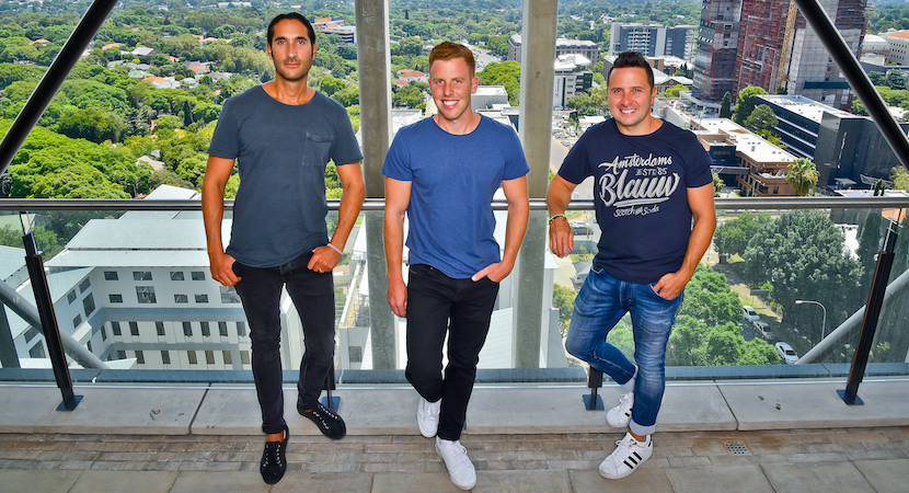 Flow co-founders Gil Sperling, Daniel Levy and Jonathan Liebmann