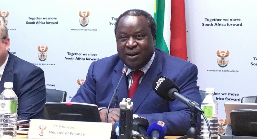 Tito Mboweni, Budget 2019