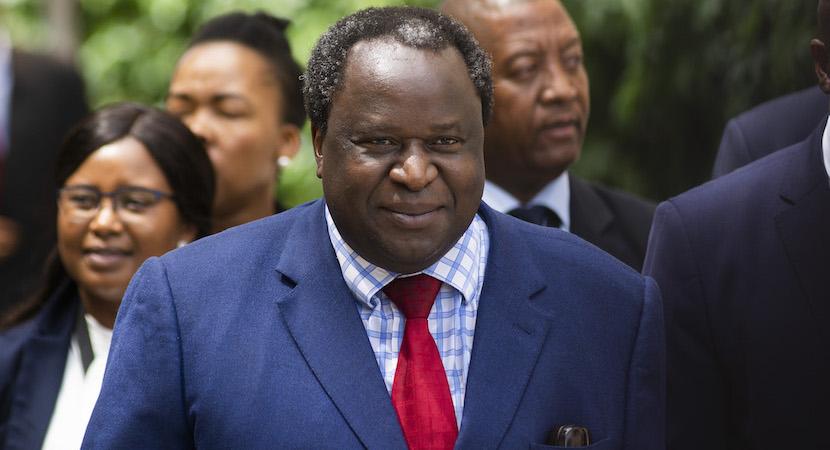 Tito Mboweni Budget Speech