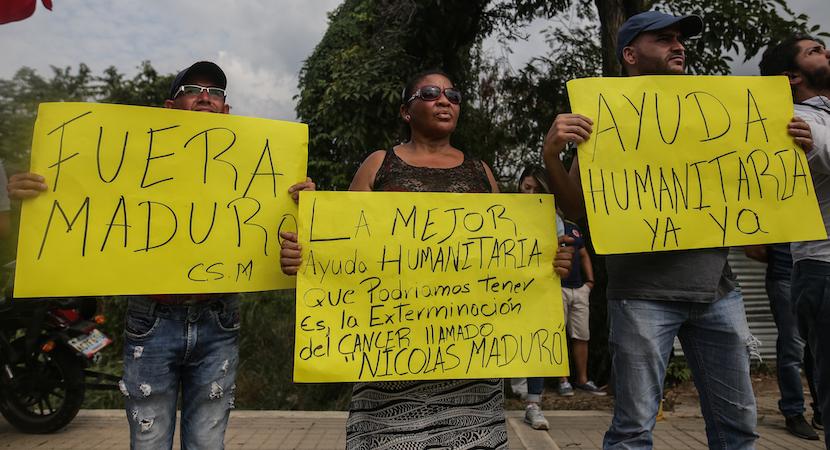 Maduro Shuns Humanitarian Aid