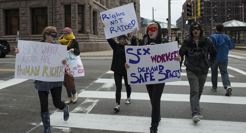 sex work protests
