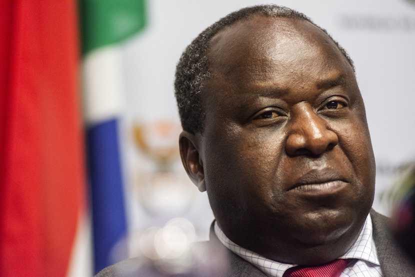 Minister Tito Mboweni