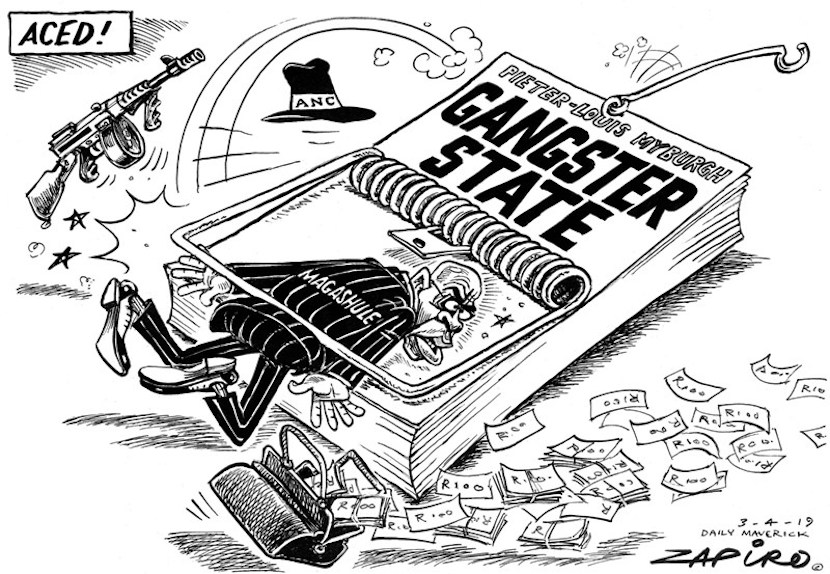 Ace Magashule, Gangster State, Zapiro
