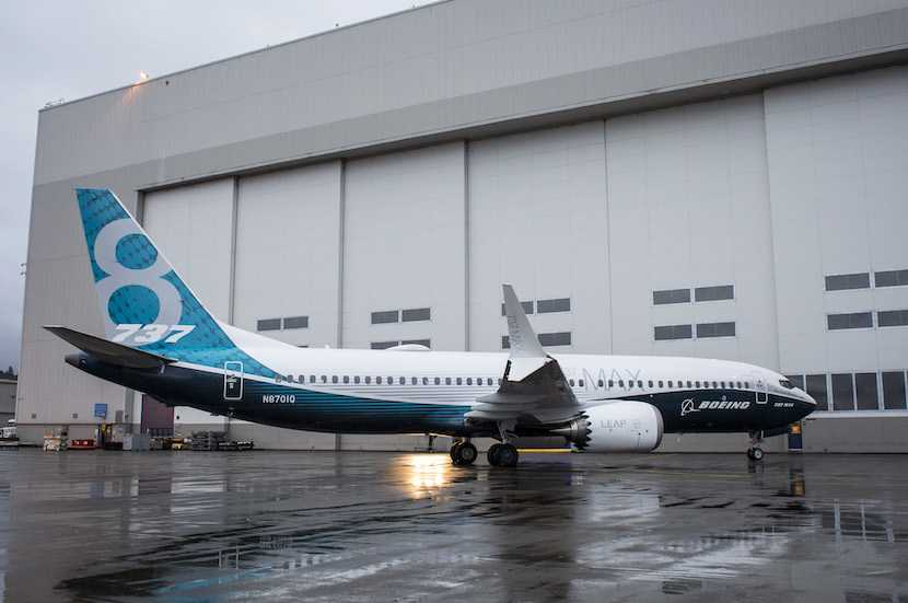 Boeing Co. 737 MAX 8