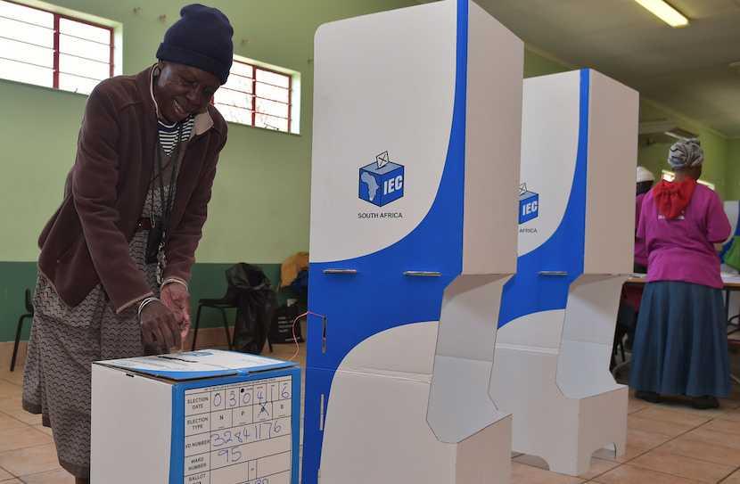 IEC voting station