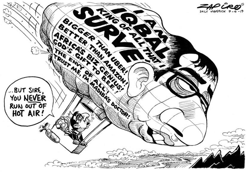 Iqbal Survé, Zapiro