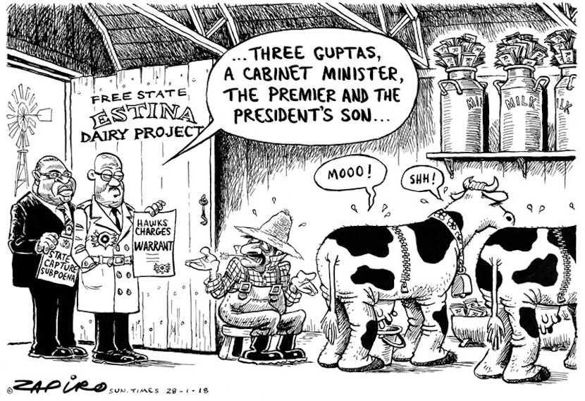 SA, the Tsotsi Republic: Anger erupts as Ace Magashule scandal