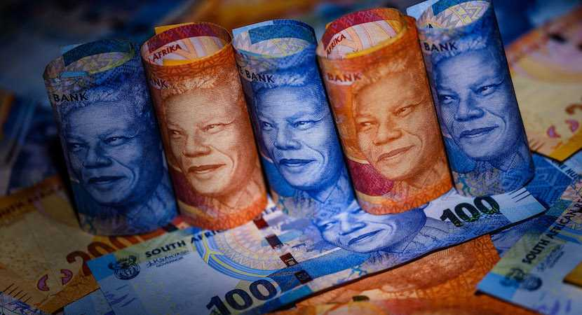 South African Rand, money