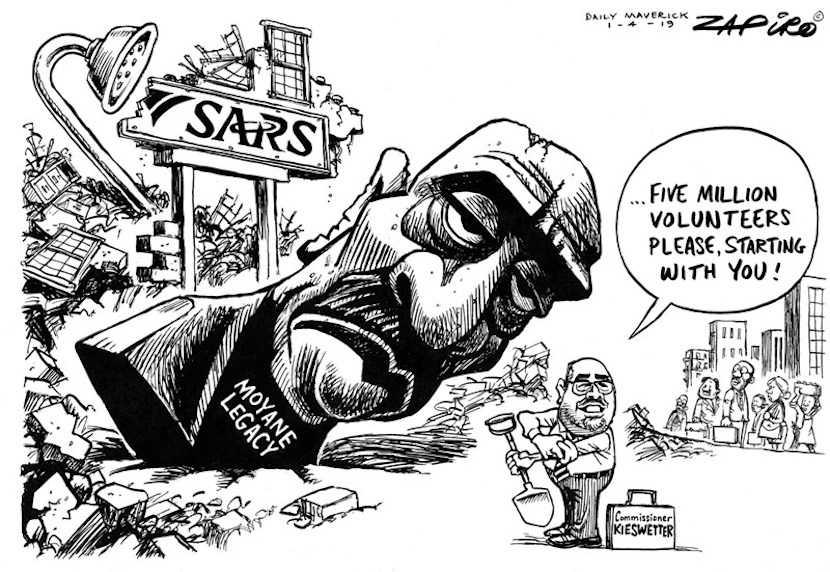 SARS, Zapiro