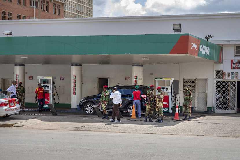 Zimbabwe, fuel