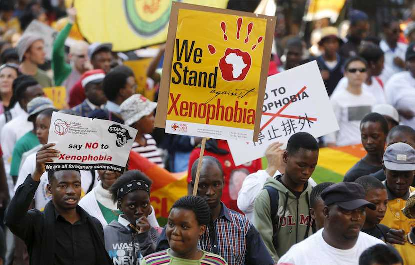 xenophobia, SA protests