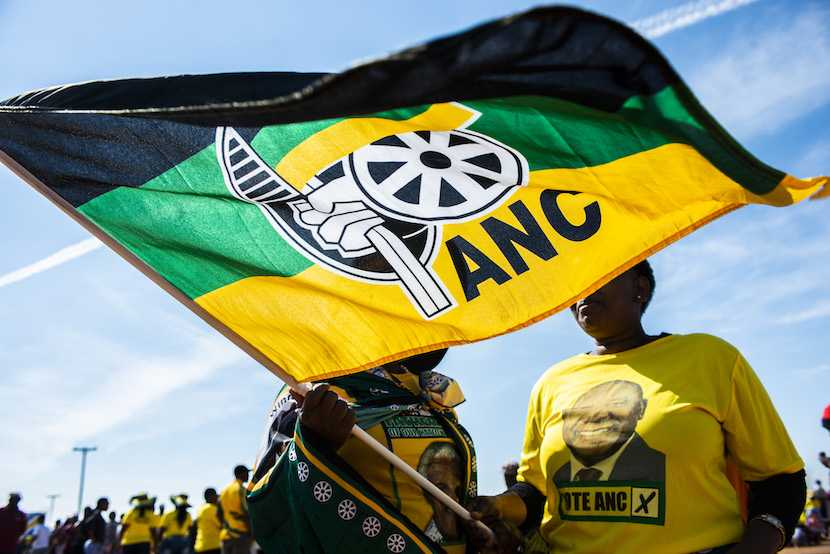 ANC Flag, Elections 2019