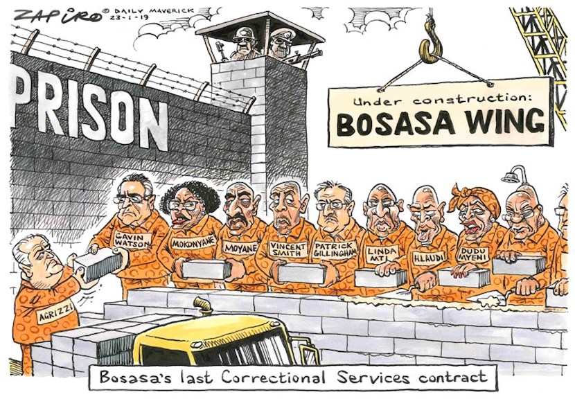 Vincent Smith is among politicians that benefitted from bribes paid by Bosasa.
