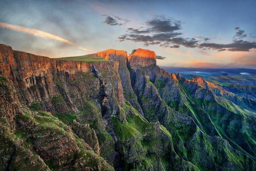 The Drakensberg is a key tourism region in KZN, South Africa, One Touch