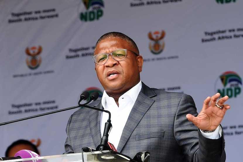 ANC, Fikile Mbalula