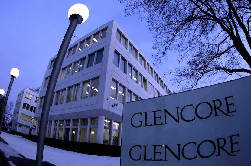 Glencore, Switzerland