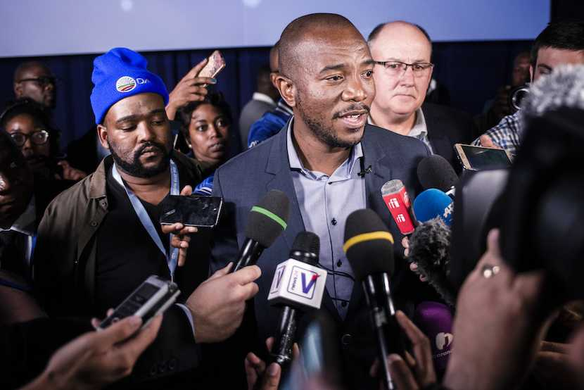 Mmusi Maimane, Democratic Alliance