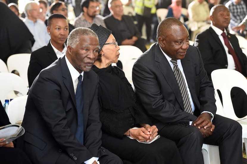 Cyril Ramaphosa, Thebo Mbeki