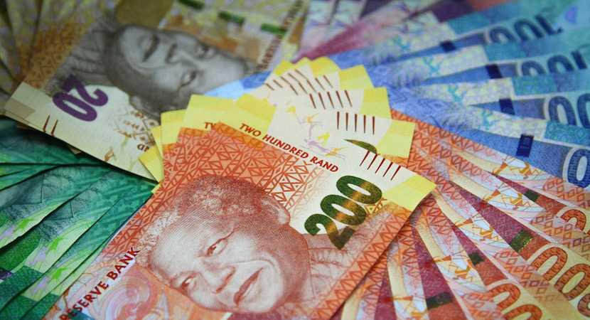 SA GDP; rand