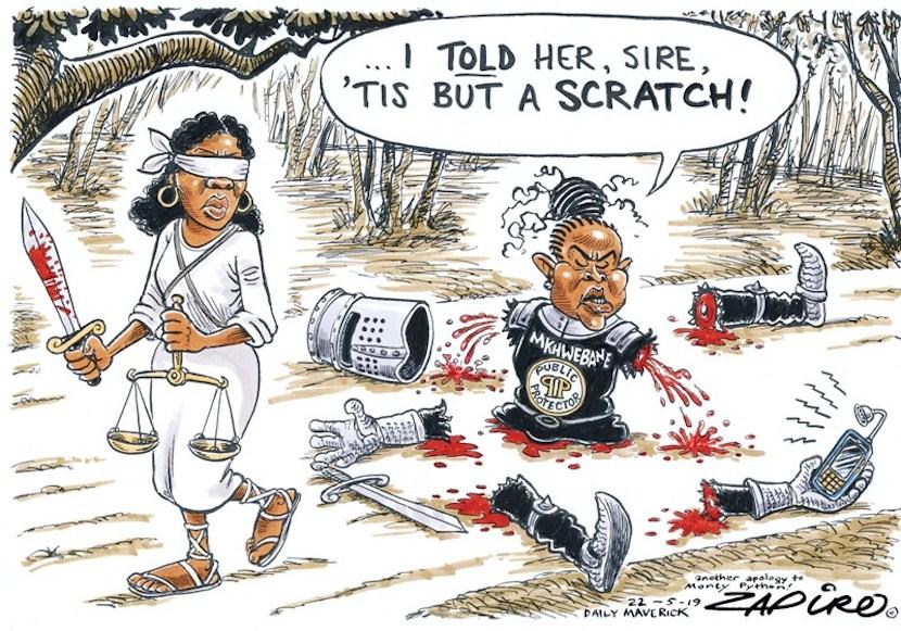Public Protector, Busisiwe Mkhwebane