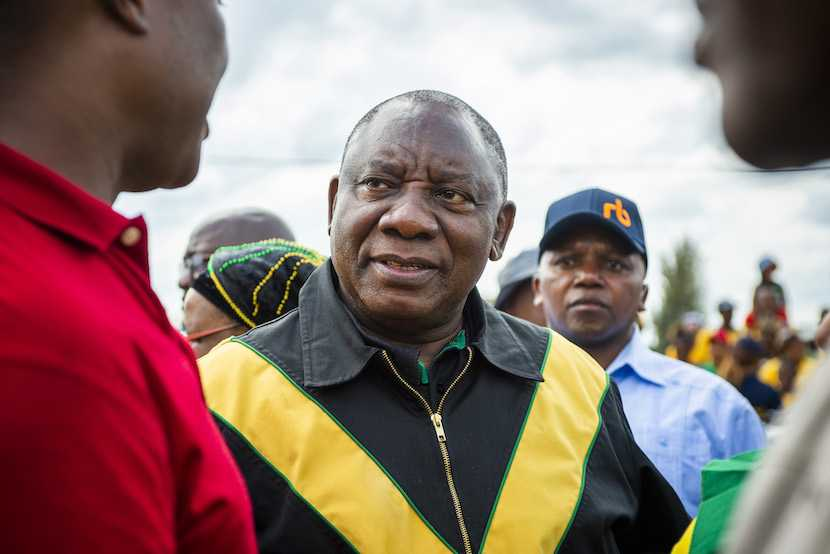 Cyril Ramaphosa, ANC, elections