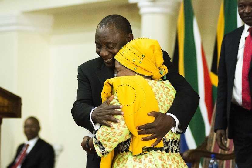 Cyril Ramaphosa, Nkosazana Dlamini-Zuma