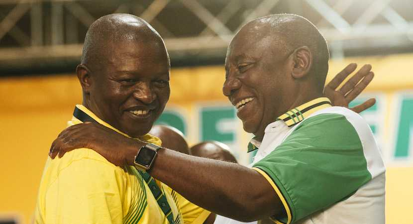Cyril Ramaphosa, David Mabuza