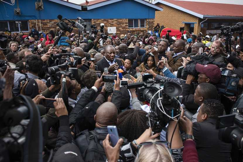 ANC, Cyril Ramaphosa, elections 2019