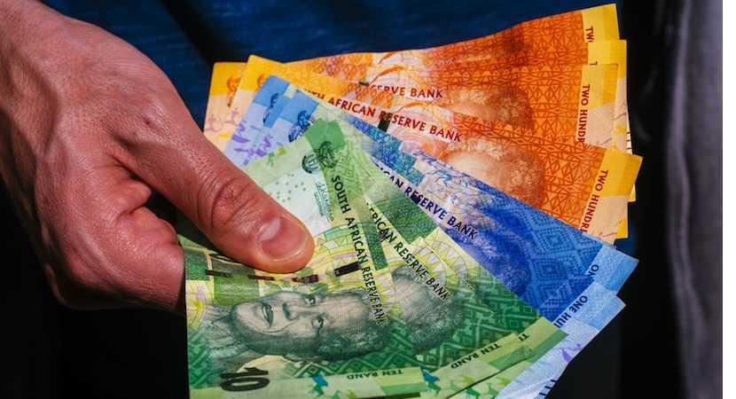 Rand banknotes