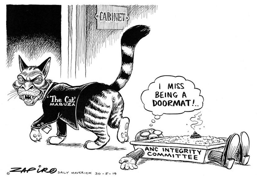David Mabuza, The Cat, Zapiro