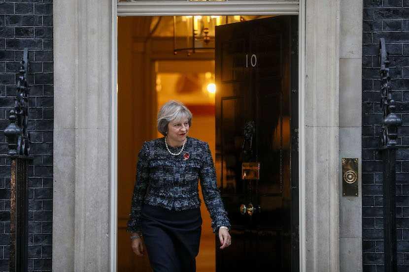 Theresa May, 10 Downing Street