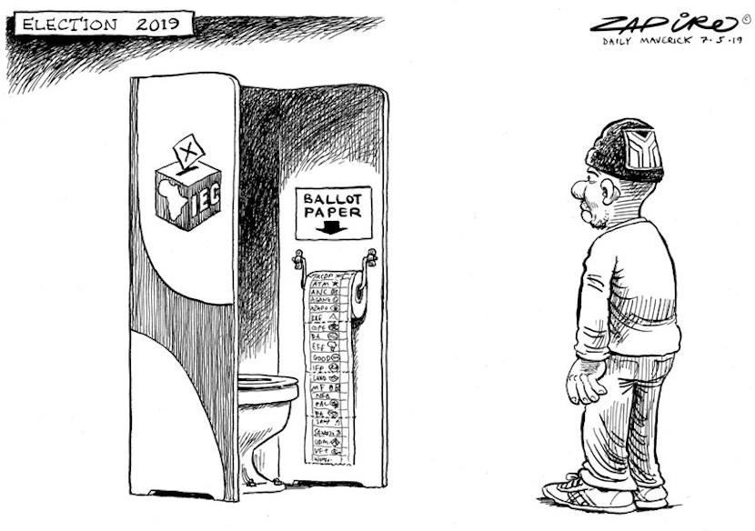 Zapiro, SA 2019 Elections