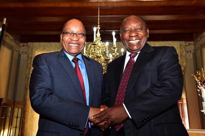 Jacob Zuma, Cyril Ramaphosa