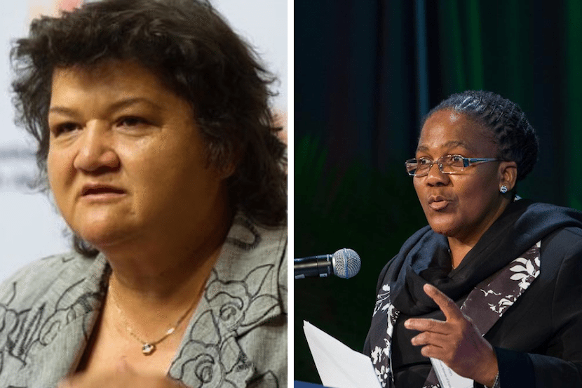 Lynne Brown, Dipuo Peters