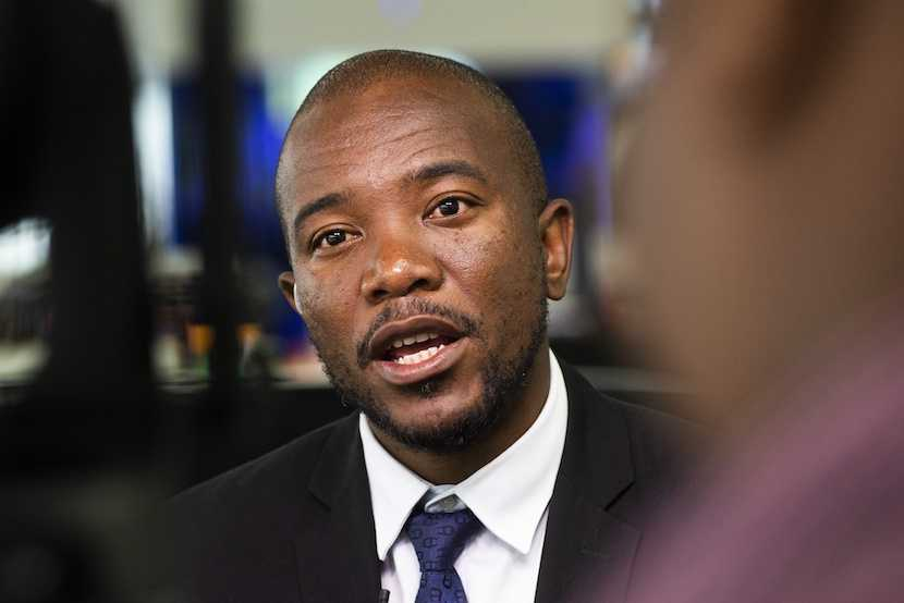 Mmusi Maimane launched his economic recovery plan