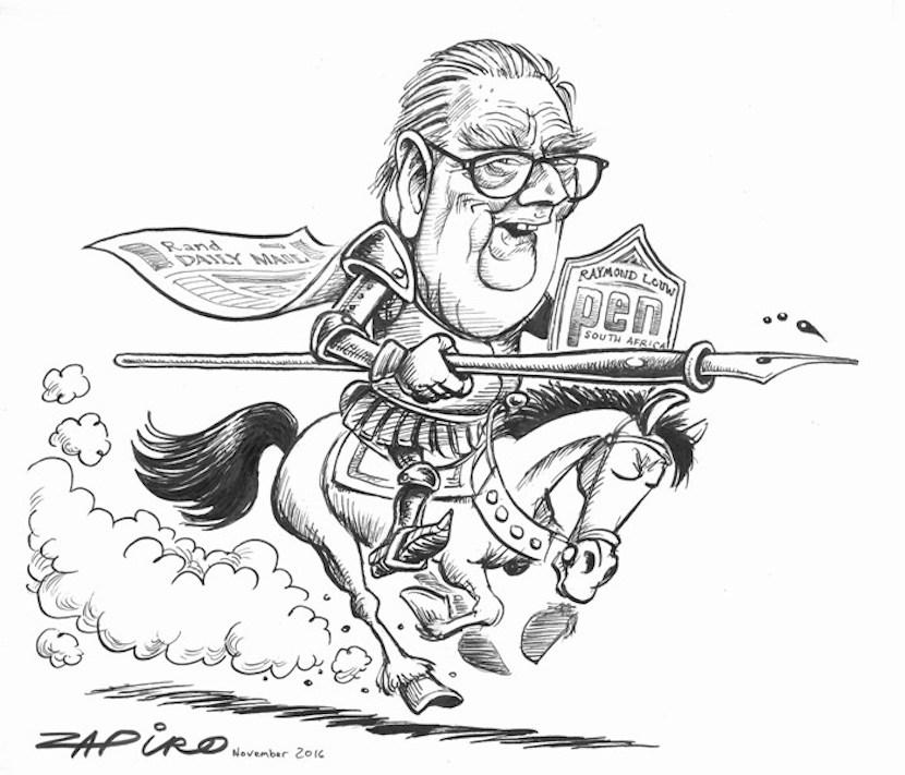 Raymond Louw, Zapiro
