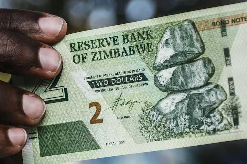 Zimbabwe, bond dollars