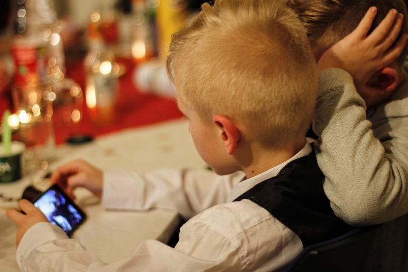 children screen time