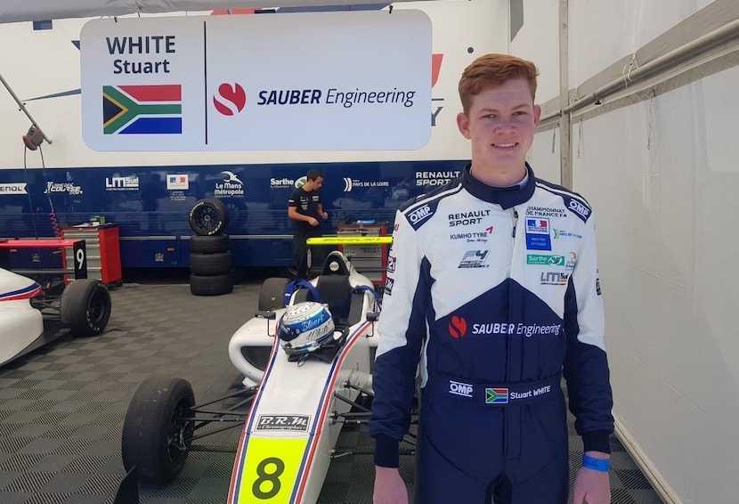 Stuart White, Sauber, Formula 1