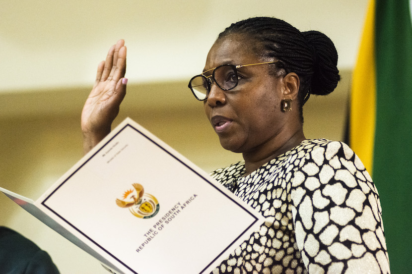 Ayanda Dlodlo, State Security Agency, SSA