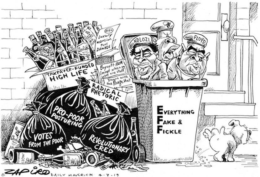 EFF, Marianne Thamm, trash