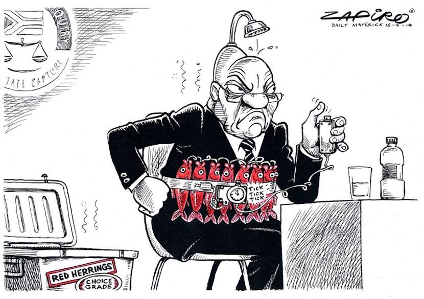 Jacob Zuma, State Capture Commission, Zapiro